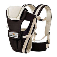 Baby Carrier by Brighter Elements - BEST for Newborn, Infant, Toddler, & Child - 4 in 1 - Backpack, Front Facing, Kangaroo, & Sling Positions - Lightweight & Ergonomic Carriers - For Moms & Dads - Flexible Design - Carry Safely with Confidence Now!