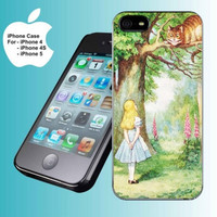 ALICE WONDERLAND CHESHIRE CAT iPhone Case And Samsung Galaxy Case