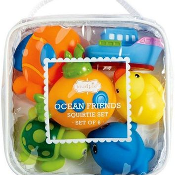Mud Pie-Ocean Friends Bath Set