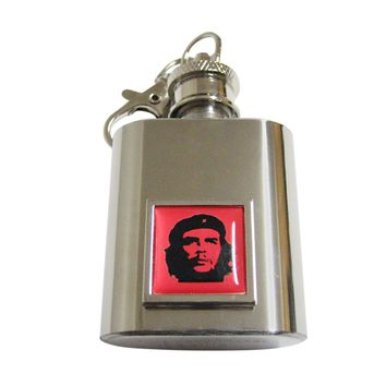 Che Guevara 1 Oz. Stainless Steel Key Chain Flask