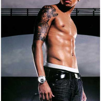Chris Brown Portrait Poster 11x17
