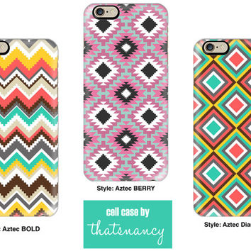 iPhone 5c case | Aztec iPhone 5 Case, Diamond iPhone 6 Case, iPhone 5C | cellcasebythatsnancy