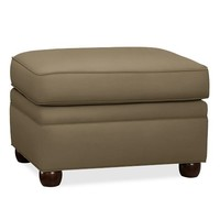 CHESTERFIELD UPHOLSTERED OTTOMAN PERFORMANCE FABRICS