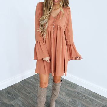 Need You Always Dress: Peachy Nude