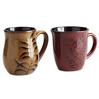 Product Details - Reactive Leaves Mugs