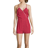 Love by Design Sleeveless Bandana Romper