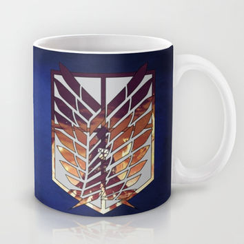 Eren Jaeger - Attack on titan (Shingeki no Kyojin) Mug by TxzDesign