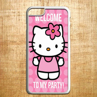 Hello Kity Welcome to My Party for iphone 4/4s/5/5s/5c/6/6+, Samsung S3/S4/S5/S6, iPad 2/3/4/Air/Mini, iPod 4/5, Samsung Note 3/4, HTC One, Nexus Case*PS*