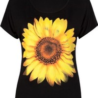 FULL TILT Daisy Womens Tee
