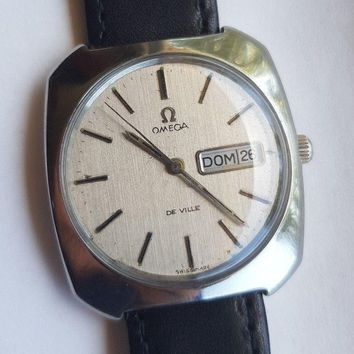 1971 Omega DeVille Day-Date Dial Watch