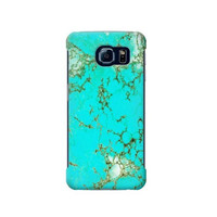 P2377 Turquoise Gemstone Graphic Case For Samsung Galaxy S6 Edge