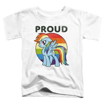 My Little Pony Toddler T-Shirt Proud White Tee