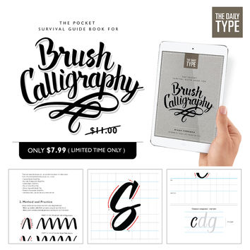 The Pocket Survival Guide Book For Brush Calligraphy
