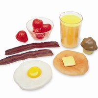 Learning Resources Pretend & Play Breakfast Foods Basket