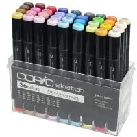 Copic Marker 36-Piece Sketch Markers Set, 25th Anniversary Limited Edition