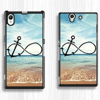 sony case,sea anchor Sony xperia Z case,art Sony xperia Z1 case,anchor Sony xperia Z2 case, graffiti art hard case,anchor song case