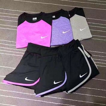 DCCKFM6 Nike: Fashion three sets of sports women