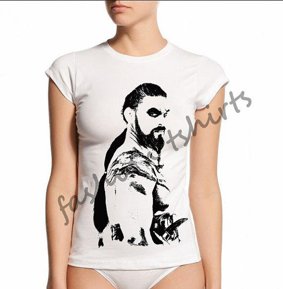 Khal drogo shirt game of thrones from fashiontshirts on etsy for Game of thrones dress shirt