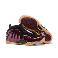 Nike Air Foamposite One Maroon Sneakers