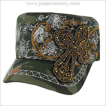 Camo Cross Hat
