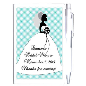 Bride Notebook Favors Many Colors To Choose