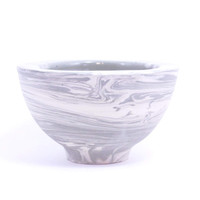 Modern Gray Two Tone Bowl