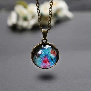 Universe in a Necklace Fashion Jewelry