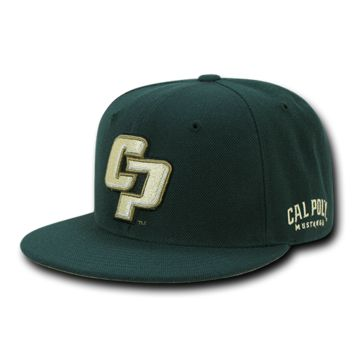 College Collegiate Cal Poly Mustangs University State Hat School Spirit Sports Baseball Cap WRA 1002
