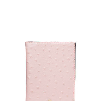 Kate Spade Riverside Street Ostrich Passport Holder