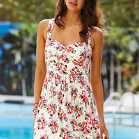 dELiAs > Open Back Floral Dress > dresses > casual