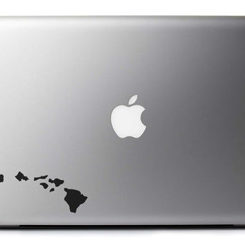 Hawaiian Islands Vinyl Decal Many Sizes for Phones Tablets Laptops Wall and More + Free USA Shipping!