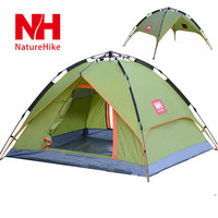 High-quality Professional 3-4 People Double Automatic Tent Camping Tent Quick-opening Waterproof 210*180*130cm Camping Tents