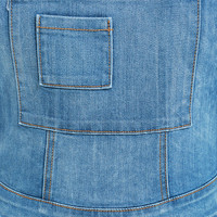 Follow Along Medium Wash High-Waisted Denim Overalls