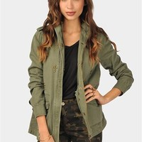 Armed And Dangerous Jacket - Olive at Necessary Clothing