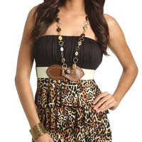 Cheetah Print Tube Top | Shop Junior Clothing at Wet Seal