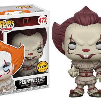 Stephen King's It Pennywise Clown Blue Eyes Chase Pop! Vinyl Figure #472