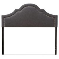 Rita Modern And Contemporary Fabric Upholstered Headboard - Baxton Studio : Target