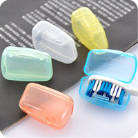 5PCS Travel Toothbrush Head Cover Case Cap Hike Camping Tooth Brush Cleaner Protection