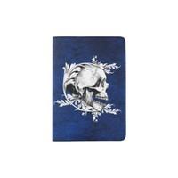 Skull Cameo 1 Passport Holder