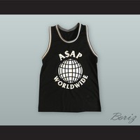 A$AP Rocky 14 Ferg Trap Lord Worldwide Basketball Jersey