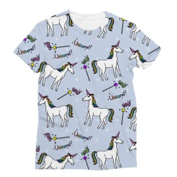 Magical Unicorn AWDis Sublimation T-Shirt