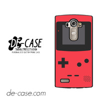 Red Pink Gameboy For LG G4 Case Phone Case Gift Present YO