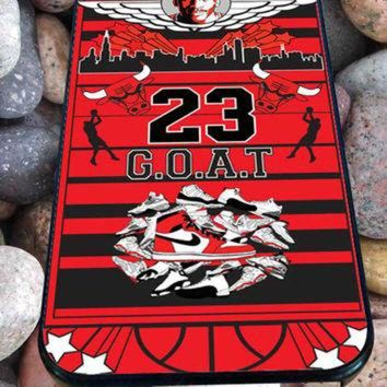 DCCKHD9 Michael Jordan Too Fly for iPhone 4/4s, iPhone 5/5S/5C/6, Samsung S3/S4/S5 Unique Case