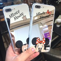 Mickey & Minnie Mouse Mirror Phone Cases