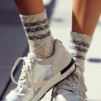 Free People Remi Stripe Crew Sock