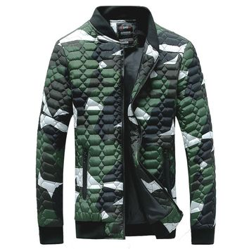 new men's winter jacket polyester padded coat casual outwear overcoat 3 colors