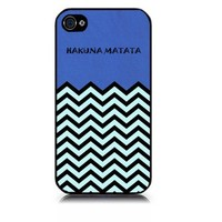 Aztec Hakuna Matata Pattern Snap On Case Cover for Apple iPhone 4 iPhone 4s
