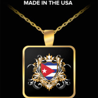 Cuban Royalty Gold Plated Necklace