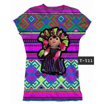 Mexican Doll Graphic Tee t-shirt