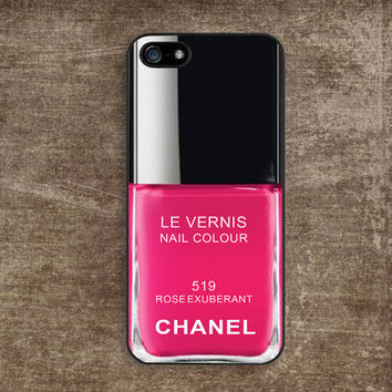 iPhone 5 Case  Chanel Nail Polish Make Up Rose by iPhoneiCase